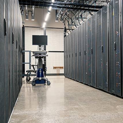 Server and Network Room Setup